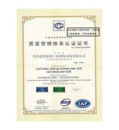 质量管理体系中文版