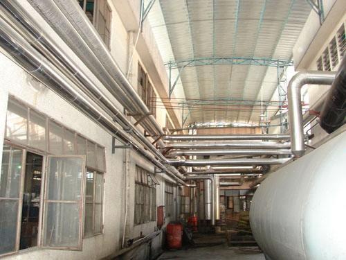 佛山容桂工厂压力管道