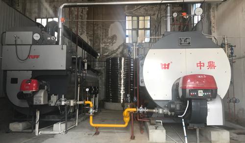 10T天然气蒸汽锅安装工程1
