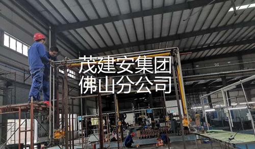 丰隆(新兴)车间氮气氧气天然气管道安装项目