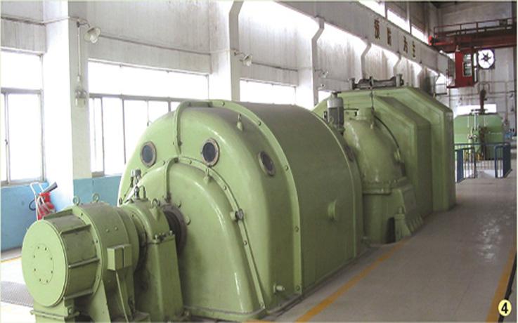 纺织厂发电机组安装工程