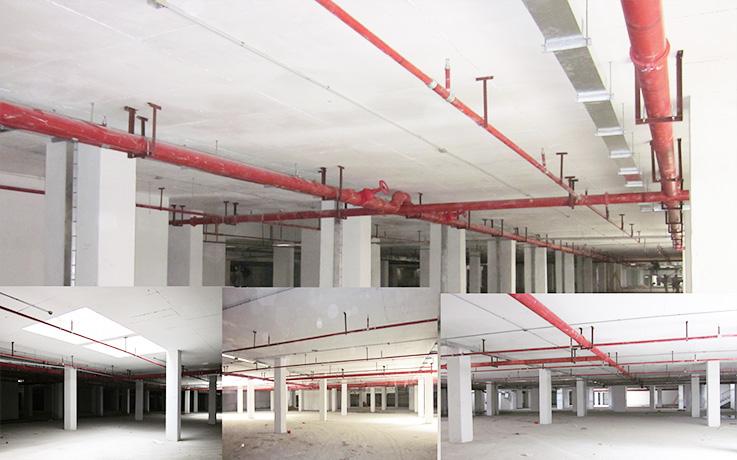 地下室消防设施安装
