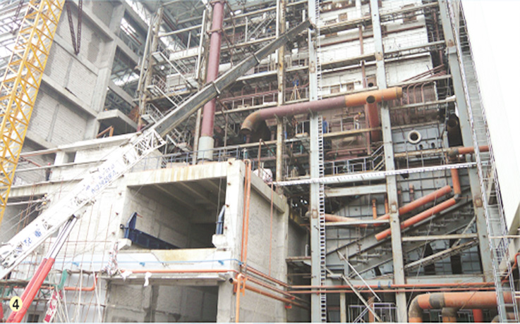 中山锅炉安装工程