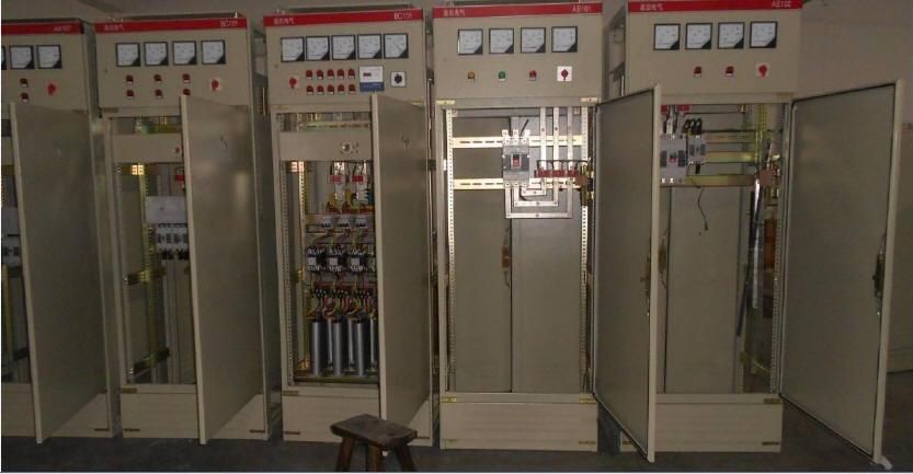 江门外海镇工厂双电源柜安装工程