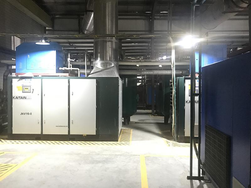 中山开发区工业园压缩空气管道安装工程