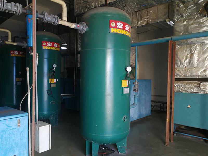 珠海化工厂空压站安装工程