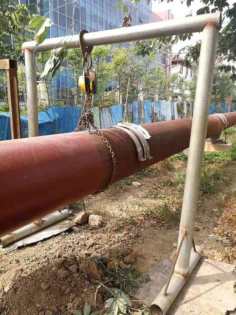 中山小榄工业园园区蒸汽管道安装1
