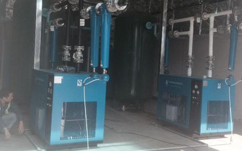 纤科工业(珠海)有限公司空压机房增容安装工程完工总结